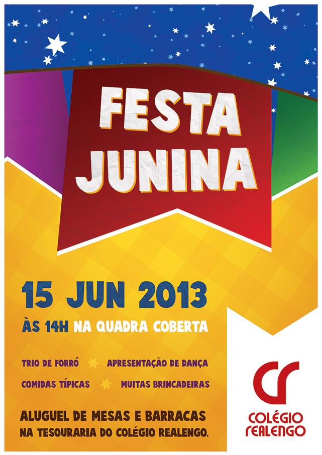 cartaz festa junina print