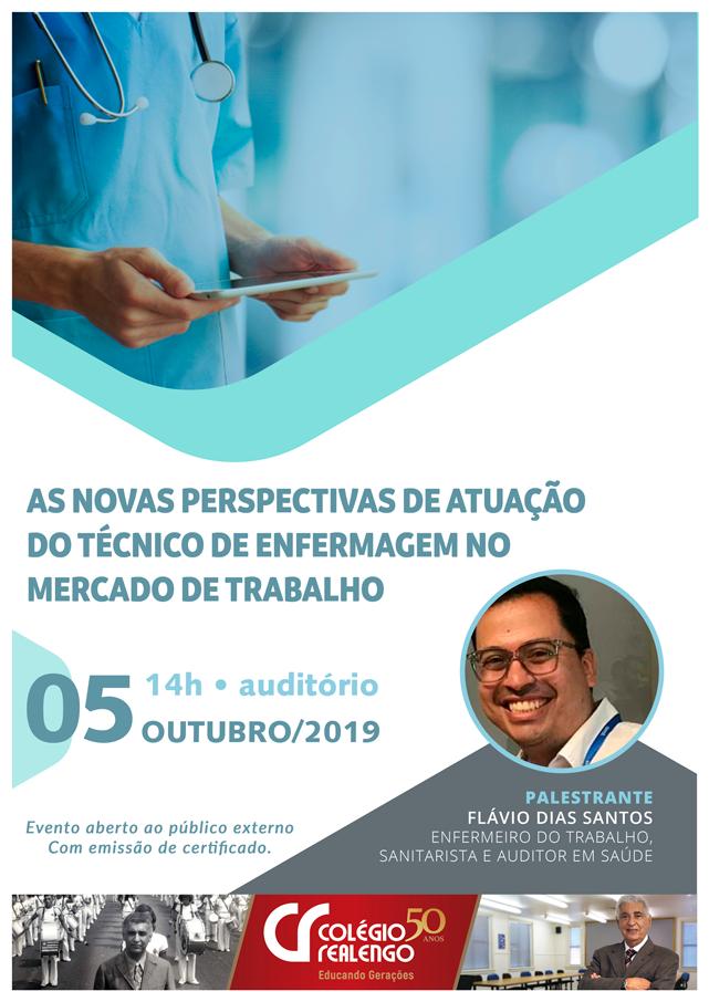 palestra enfermagem 2019