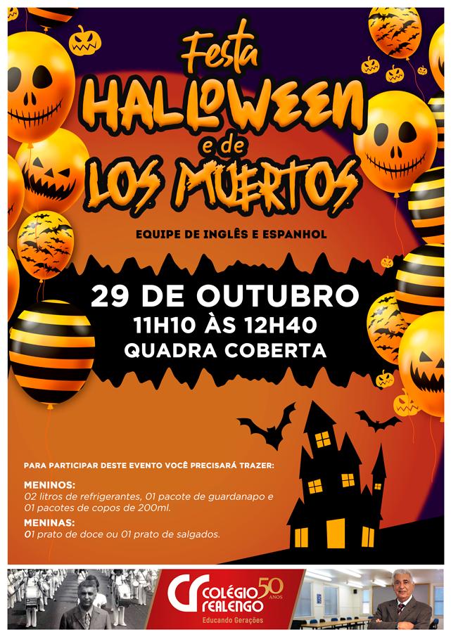 festa de halloween 2019