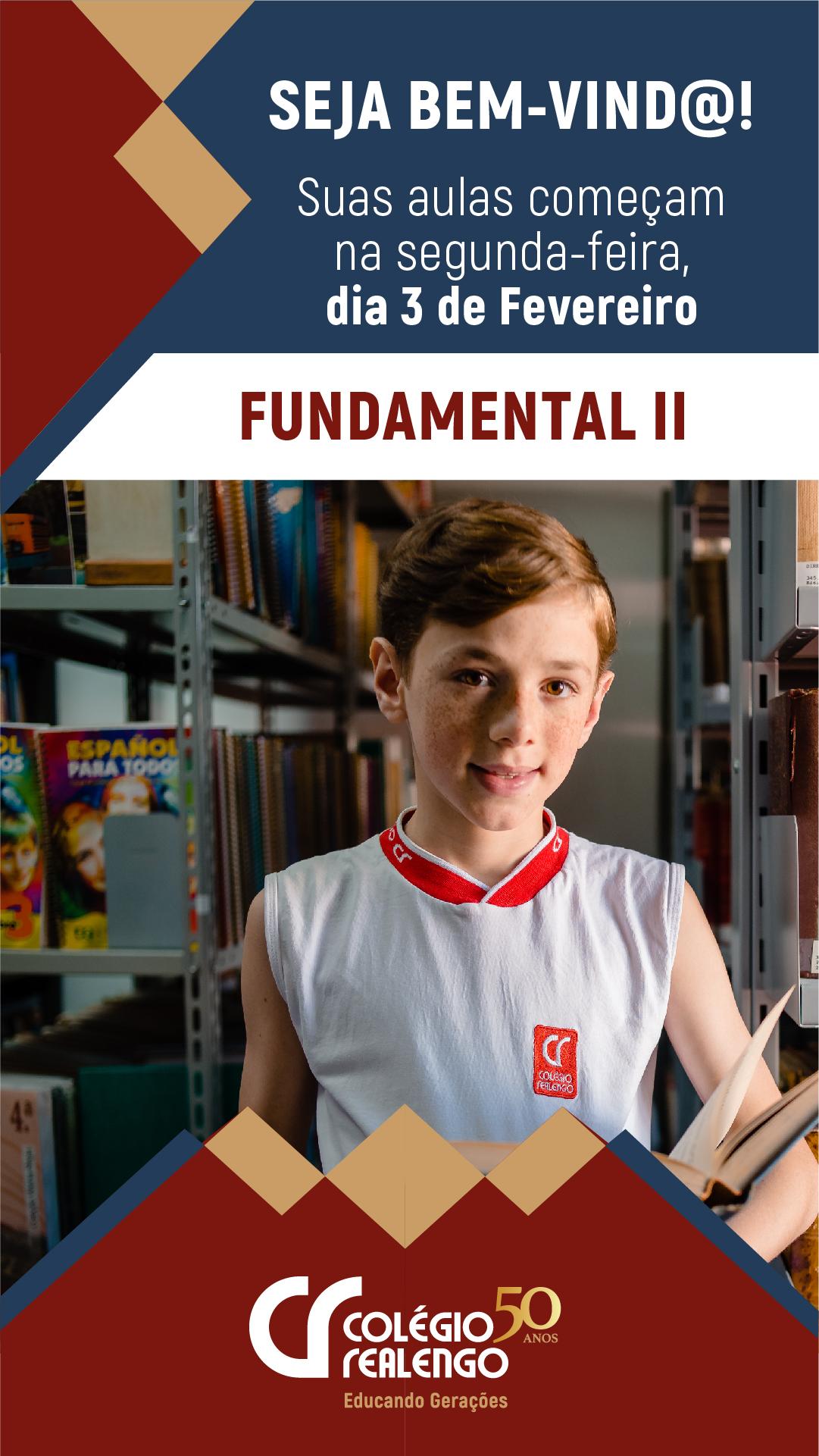 inicio das aulas de ed fundamental 2