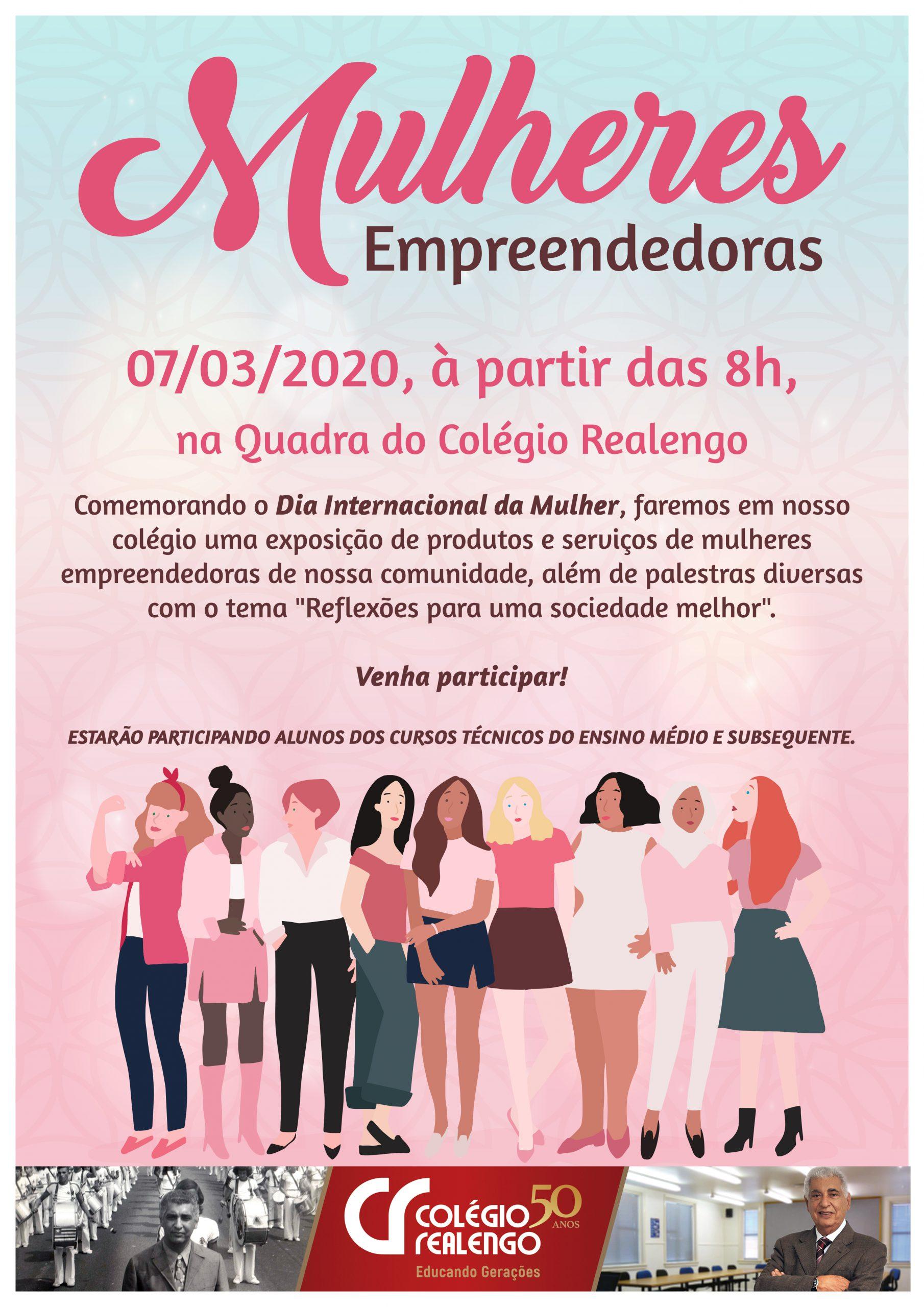 mulheres empreendedoras 2020